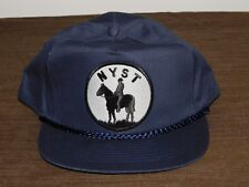 POLICE BASEBALL CAP HAT NEW YORK STATE TROOPERS NYST NEW UNUSED