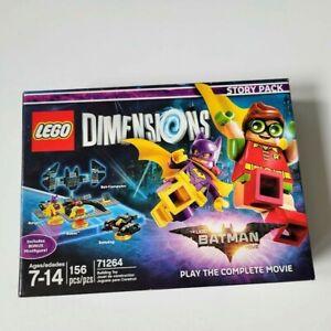LEGO Dimensions 71264 The Batman Movie Story Pack Batgirl Robin Batwing NIB
