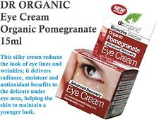 1 x 15ml DR ORGANIC Organic Pomegranate EYE CREAM / Anti Wrinkle Cream