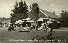 Surry ME Play House Theatre Real Photo Postcard