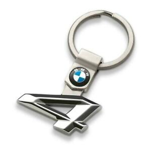 BMW Genuine Main Collection Stylish Stainless Steel Keyring 4 Series 80272454650