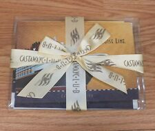 Disney's Castaway Club Stationery Set Of 8 Note Cards & Envelopes Only *Read*