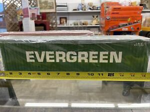 USA TRAINS /  Evergreen / SHIPPING CONTAINER