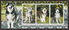 Alaskan Malamute * Int'l Dog Postage Stamp Art * Great Gift Idea *
