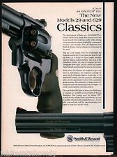 1992 SMITH & WESSON Model 29 & 629 .44 magnum Revolver AD~ADVERTISING