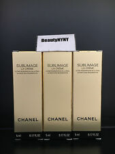 3 Chanel Sublimage La Creme 5ml/0.17oz each - New Formula