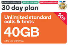 $50 Kogan Mobile Prepaid Voucher Code: XL (30 Days | 40GB) - Long Expiry