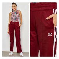 ADIDAS Originals | Womens Burgundy Contemporary Track Pants [ AU 8 or US 4  ]