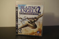 Blazing Angels 2: Secret Missions of WWII (Sony PS3, 2007) *Tested / CIB