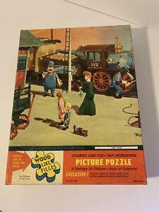 RARE Vintage Children's Picture Puzzle Giant Tuco Prototype? Casey Jones