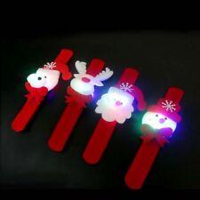 4 Stk Weihnachten Leuchtende Weihnachtsmann Bär Armband Kinder Ornament Geschenk