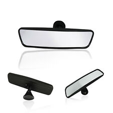INTERIOR ANY CAR WIDE REAR VIEW MIRROR Adjustable Suction Cup Windscreen 25cm