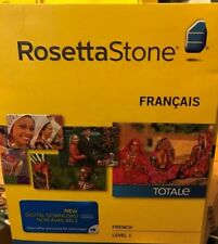Rosetta Stone LEARN  FRENCH  LEVEL 1  TOTALE  V4 CD SET+ DIGITAL DOWNLOAD