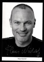 Klaus Nierhoff Lindenstraße Autogrammkarte Original Signiert # BC 57218