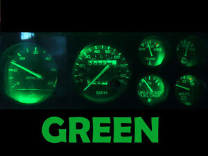 Gauge Cluster LED Dashboard Bulbs Green For Oldsmobile 78 88 Olds Cutlass Tach