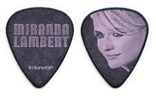 Miranda Lambert Portrait Black/Pink Guitar Pick - 2014 Platinum Tour
