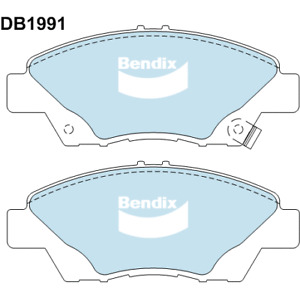 Brake Disc Pad Set  Bendix DB1991 GCT For HONDA CITY 1.5L CR-Z  1.5L INSIGHT 1.3