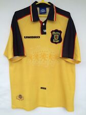 SCOTLAND NATIONAL TEAM 1996 1998 UMBRO AWAY FOOTBALL SOCCER SHIRT JERSEY