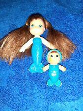 1979 Kenner Sea Wees Blue Merry Mermaid Doll Baby Marina -