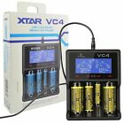 New Xtar VC4 USB Li-ion/Ni-MH Battery Charger 14500/16340/18650/32650/AA/AAA/C/D