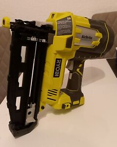 RYOBI 18V ONE+ Cordless AirStrike 16-Gauge Nailer (Body Only) (Used Once)
