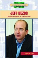 Jeff Bezos: Business Genius of Amazon.Com (Internet Biographies)-ExLibrary