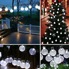 Solar Outdoor Crystal Light String Ball Lamp For Wedding/Party/Indoor/Courtyard