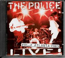 CD ALBUM LIVE 15 TITRES--THE POLICE--LIVE ATLANTA 1983 VOL.2