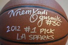NNEKA OGWUMIKE signed FROM ROOKIE YEAR LOS ANGELES SPARKS PSA COA