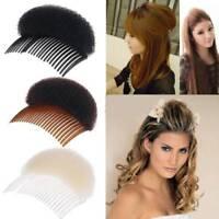 Women Hair Styling Clip Stick Bun Maker Bump It Up Volume Hair Base Styling Tool
