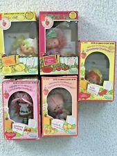 Vintage Strawberry Shortcake Doll Lot (5) in Original Boxes Booklets