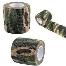 Self-adhesive Non-woven Camouflage WRAP RIFLE GUN Hunting Woodland Camo Tape