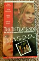 The Tie That Binds (VHS 96) Thriller Demo Tape Full-Length Screener Daryl Hannah
