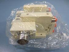 1 New SMC SS5V3-W10CD-02B Manifold Plug in Circular Connector