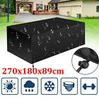 Waterproof Outdoor Garden Patio Furniture Cover For Rattan Cube Rectangle Table