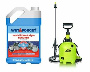 Thrust One Sprayer Garden Spraying Tool & Wet and Forget Patio Cleaning Set NEW