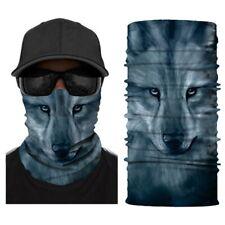 Wolf Seamless Full Face Tube Bandanas Multifunctional Headwear Mask Neck Gaiter