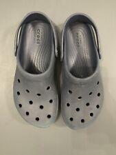 Men's Size 8 Navy Blue Crocs Clogs