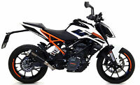 SILENCIEUX ARROW PRO-RACE NICHROM DARK KTM DUKE 125 2017/18 - 71866PRN