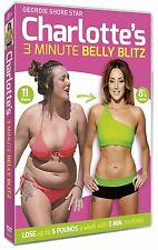 Charlotte Crosby's 3 Minute Belly Blitz [DVD] NEU Fitness Geordie Shore Abnehmen