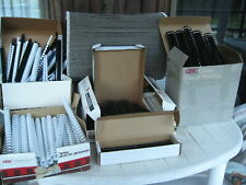 Huge Lot Over 700 Of Gbc Plastic 19 Ring Length Binding Combs All Various Sizes