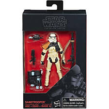 STAR WARS Sandtrooper BLACK SERIES COLLECTION WALMART 3.75 TBS STORMTROOPER