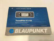 Blaupunkt Travel Pilot E1 / E2 Bedienungsanleitung *Original*  #L21