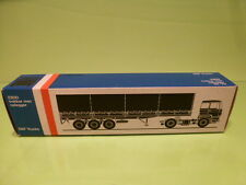 LION CAR 70 DAF TRUCKS 2800 TRAILER - 1:50 GOOD - * ONLY EMPTY BOX * (15)