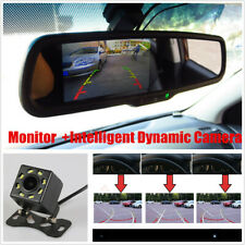 "4.3"" Auto Dimming Rear View Mirror Monitor LCD Color +Intelligent Dynamic Camera"