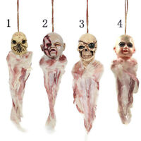 Horror Halloween Scary Ghost Hanging Decor Floating Haunted House Skull Prop Toy