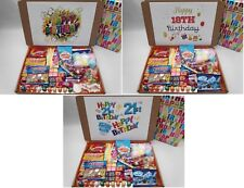 Personalised RETRO SWEETS CHOCO SELECTION BOXES Gift Hampers Great for Her/Him
