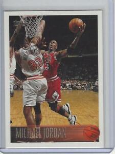 1996-97 Topps #139 Michael Jordan Chicago Bulls