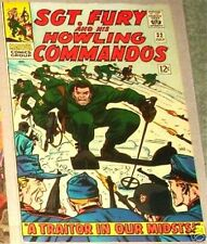 SGT. FURY 32 VF SERGEANT 1963 SERIES & HIS HOWLING COMMANDOS NICK RARE