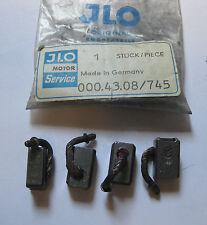 JLO ROCKWELL L295 L340 R295 R340 L380 L395 LR440 LR760 STARTER BRUSHES 4 PK